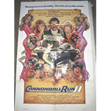 CANNONBALL RUN II / ORIGINAL U.S. ONE-SHEET MOVIE POSTER (BURT REYNOLDS)
