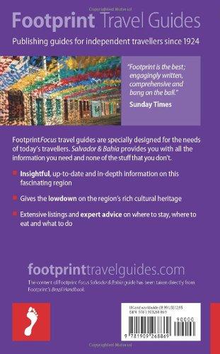 Bahia & Salvador (Footprint Focus)