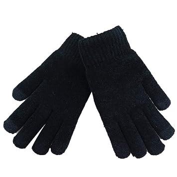 Men Women Touch Screen Gloves Soft Winter Warm Cotton Active Smart Phone Knit