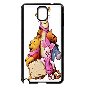 Winnie the pooh,cartoon winnie, winnie and tiger series protective case cover For Samsung Galaxy NOTE3 Case Cover LHSB9288886