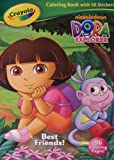 Best Crayola Educational Toys For 4 Year Olds - Dora the Explorer Crayola Coloring Book with 50 Review