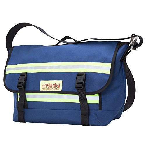 (Manhattan Portage Medium Professional Bike Messenger Bag (Navy))