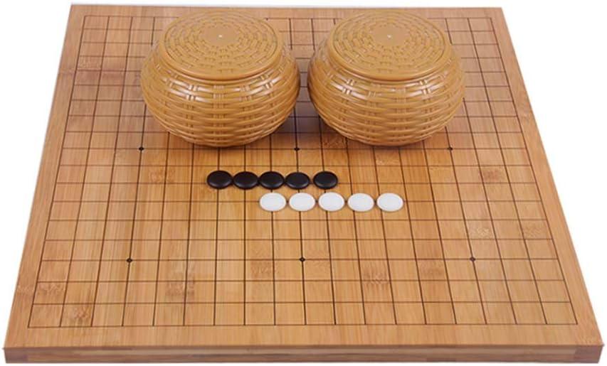 Go Game, Juego de Mesa de Estrategia, Incluido Bowl y Stone 18.5 * 17.3 : Amazon.es: Deportes y aire libre