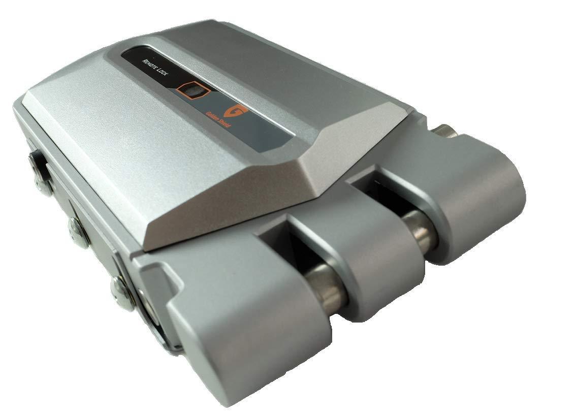 Controla Dos cerraduras electr/ónicas Invisibles con un mismo mando Golden Shield