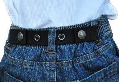 Dapper Snapper Baby & Toddler Adjustable Belt (Black) DAPPER SNAPPERS