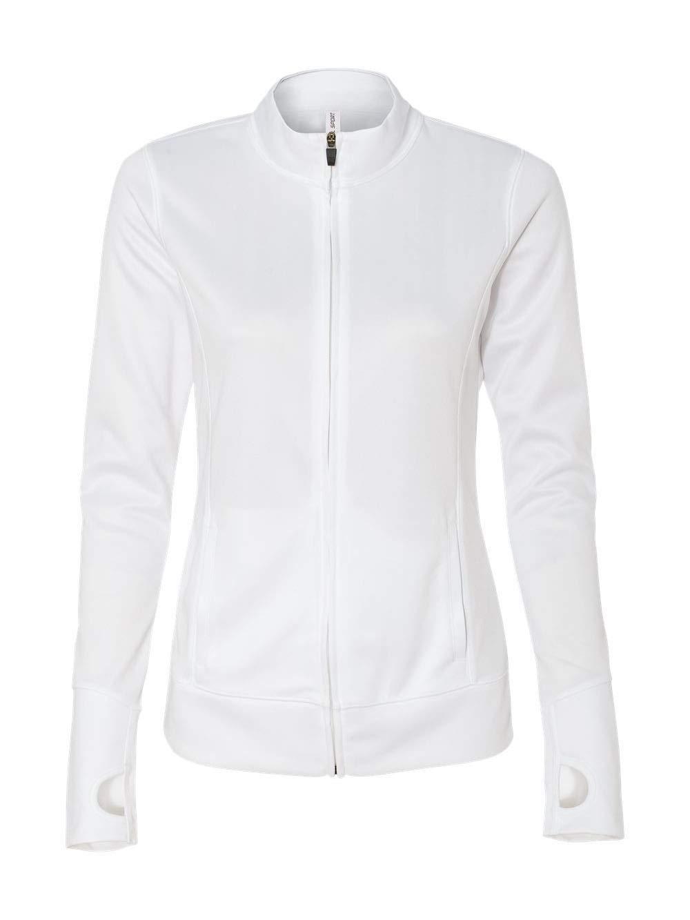 ALO Sport All Sport Womens Lightweight Jacket (W4009) -White -S