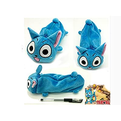 Fairy Tail Happy Plush Pencil Bag: Toys & Games