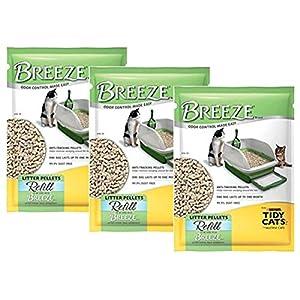 Tidy Cats Pack of 3 Breeze Cat Litter Pellets - 3.5 lb 71