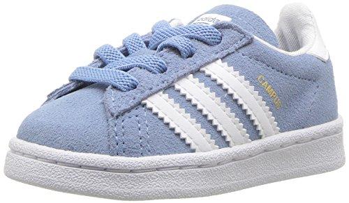 the best attitude c7748 faf6a adidas Originals Baby Campus EL I, Ash BlueWhiteWhite, 6.5 Medium
