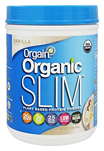 Orgain Organic Slim Weight Loss Powder, Vanilla Bean, 1.02 Pound, 1 Count
