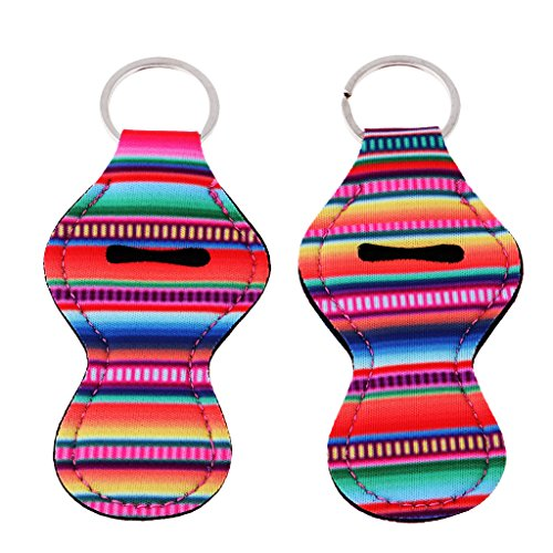 Baoblaze Handy and Stylish 12 Colorful Patterns Lip Balm Cha