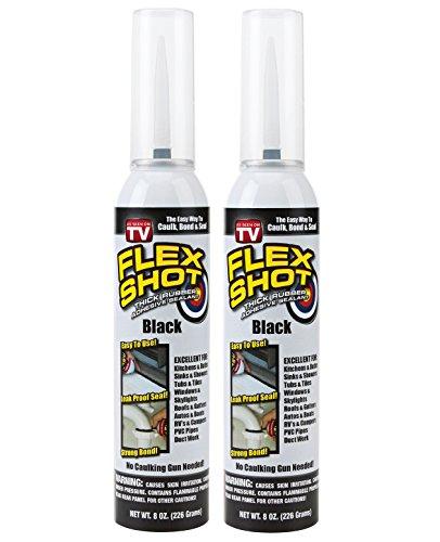 Flex Shot Black - 2 Cans