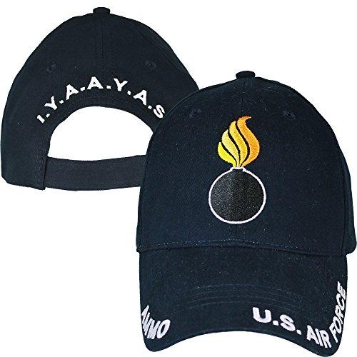 (Eagle Crest U.S. Air Force Ammo I.Y.A.A.Y.A.S. Baseball Cap Navy)