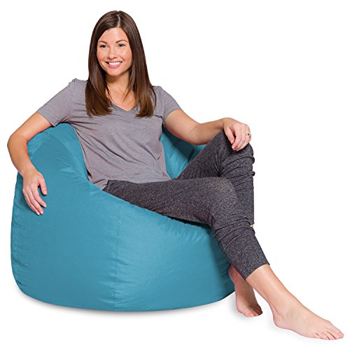 "Posh Bean Bag Chair for Children, Teens & Adults - 35"", Heather Teal"