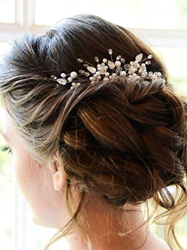 (Missgrace Bridal Vintage Hair Comb Bridal Headpiece Bridal Hair Piece Wedding Hair Piece Wedding Headpiece Wedding Hair Comb Grecian Headpiece Wedding Day Hair Comb Wedding Hair)