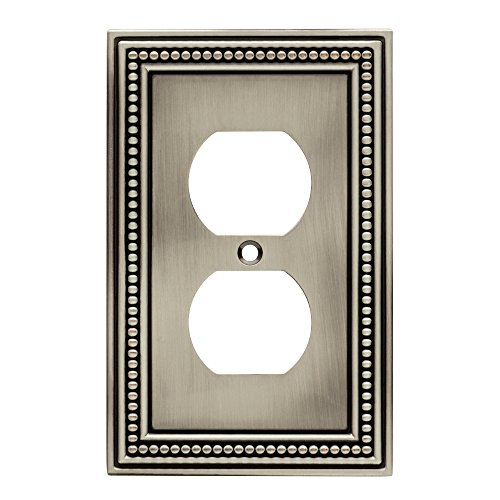 brainerd-64776-beaded-single-duplex-outlet-wall-plate-brushed-satin-pewter