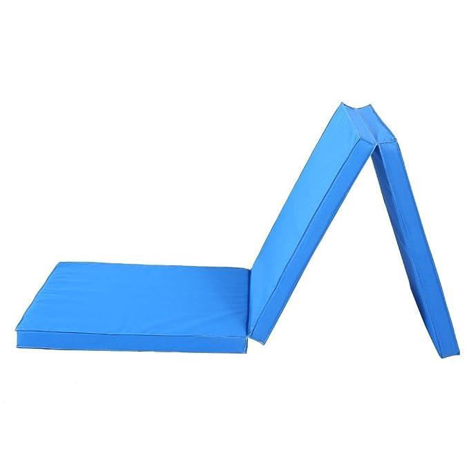 CUSCO: colchoneta de gimnasia gruesa, grande, plegable (3 ...