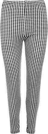 wearall womens plus size monochrome check gingham stretch