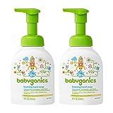 Babyganics Foaming Hand Soap, Fragrance Free, 8.45oz Pump...