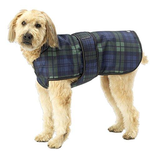 Green Plaid Kodiak Dog Coat - Medium