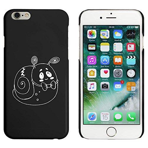 Schwarz 'Nette Schnecke' Hülle für iPhone 6 u. 6s (MC00044009)
