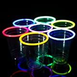 48 Glow Stick Party Cups (16-18 oz) Picture