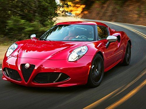 2015 Alfa Romeo 4C: The Most Affordable Supercar!