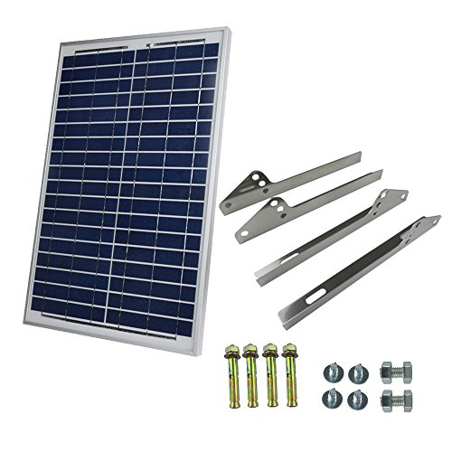 20 watt solar panel with wires - 3