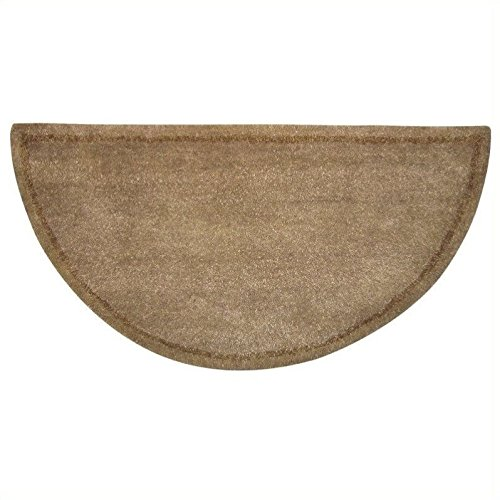 Beige Hand Tufted 100% Wool Rug (Fireplace Carpet compare prices)