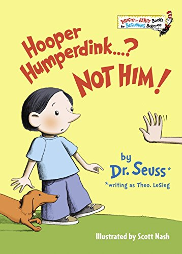 Hooper Humperdink...? Not Him! (Bright & Early Books(R))