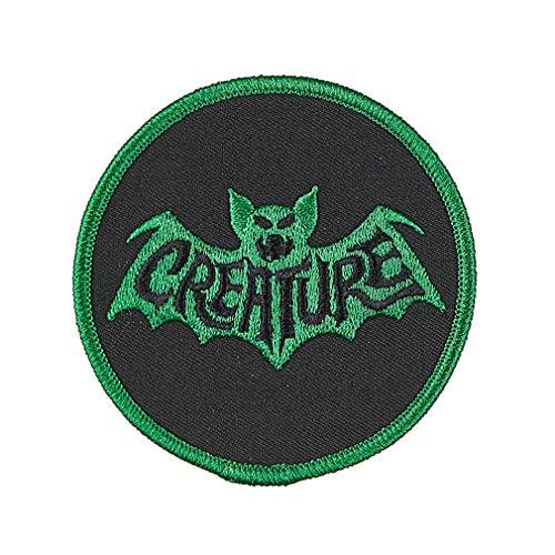 Iron Skateboard - Creature Skateboard Patch Bat Logo Embroidered Iron/Sew On