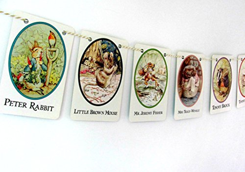 Beatrix Potter nursery bunting Peter Rabbit and Friends