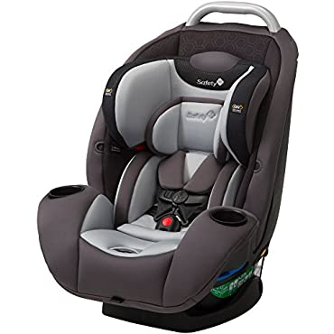 Safety 1st UltraMax Air 360 4-in-1 Convertible Car Seat, Raven HX (CC167DYR)