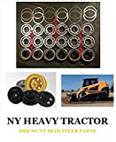 Caterpillar / Asv / Terex 1999929 8H9789 Bearing Kit Bogie Wheel X3 Caterpillar 267B 277B 2616296 Cat