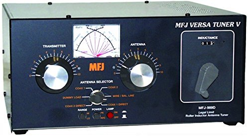 MFJ Enterprises Original MFJ-989D 1.8-30 MHz Antenna Tuner Including MARS/WARC bands, 1500 Watts