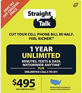 Shop for Straight Talk Wireless in No-Contract Phones & Plans. Buy products such as Straight Talk Prepaid Apple iPhone 6 32GB, Space Gray (Limit 2) Sales of Prepaid Phones are restricted to no more than (2) devices per customer within a day period (across Brands) at Walmart and save.