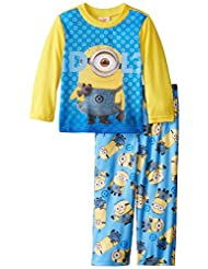 Despicable Me Little Boys' Minion Idol 2-Piece Pajama Set