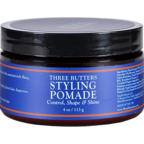 SheaMoisture Three Butters Styling Pomade - 4 oz by Shea - Butter Pomade Shea