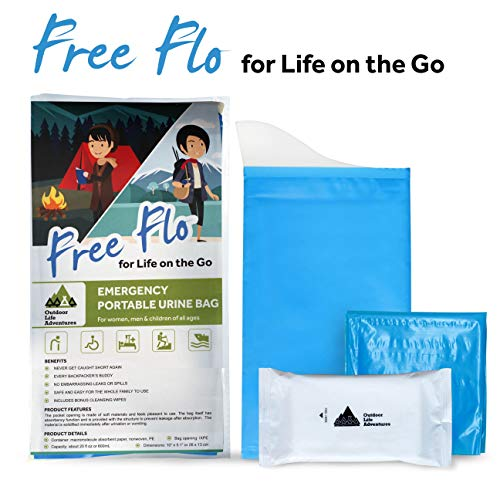 Disposable Urine Bags With Gel - 10 Pack - Easy To Use Emergency Pee, Vomit Bags - Unisex Design Is Ideal for Women and Children - Use For Car, Travel, -