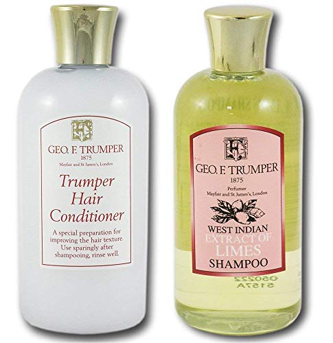 (Geo F Trumper Extract of Limes Shampoo and Trumper Hair Conditioner 200ml Twin Set by Geo F. Trumper)