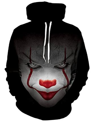 c37b37b0a463 3D Hoodies Pennywise Men Women Long Sleeve Autumn Winter Hoody Tops  Sudadera Hombre Casual Brand Sportswear