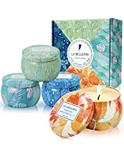 LA BELLEFÉE Scented Candles Gift Set for Christmas, Parties Gifts
