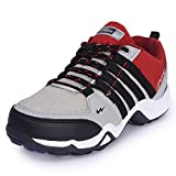 Campus Unisex Grey Mesh Walking Shoes (2)