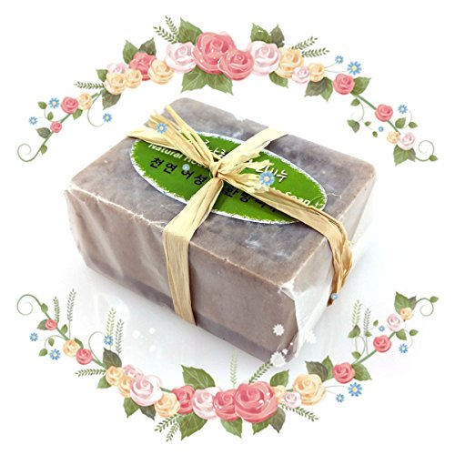 [ Handmade Natural Herb Bar Soap ] Houttuynia Cordata Bath Soap ( 4.4 oz )