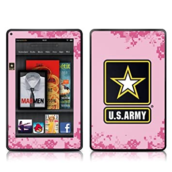 Kindle Fire Skin Kit/Decal - Army Pride Pink (will not fit HD or HDX models)
