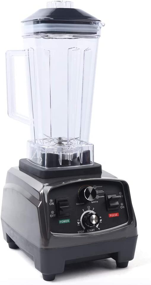 Professional Countertop Blender with 1000-Watt Base, Automatic Juicer Blender Mixer Built-in timer for Shakes ,Ice Cream, Smoothie, and Puree (wall breaking machine+rotating head)