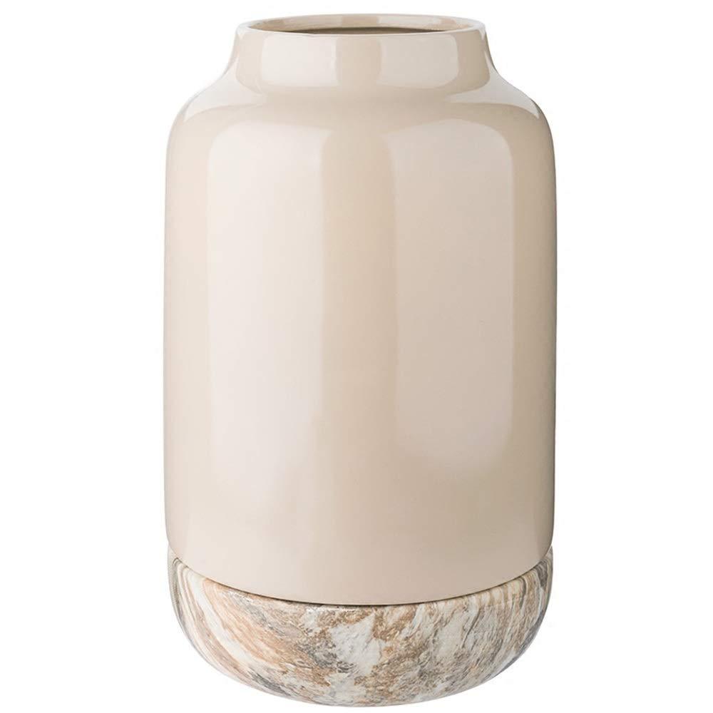 花のための花瓶グリーン植物結婚式の植木鉢の装飾ホームオフィスデスク花瓶花バスケットフロア花瓶 (サイズ さいず : L l) B07R227VYW  L l