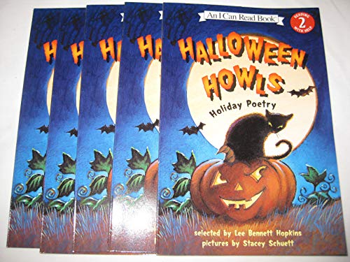 Leveled Guided Reading Set - Halloween Howls Holiday Poetry -