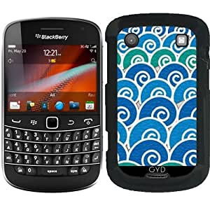 Funda para Blackberry Bold 9900 - Olas Azules De Playa by Tees2go