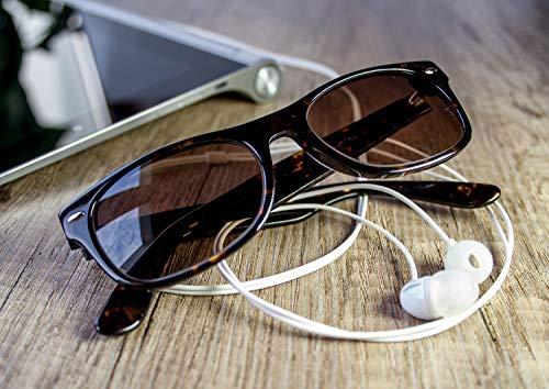 cedec5d46dd54 Polarized Sunglasses for Men and Women - Feirdio Classic Retro Sun Glasses  Pattern Frame Mens Sunglasses